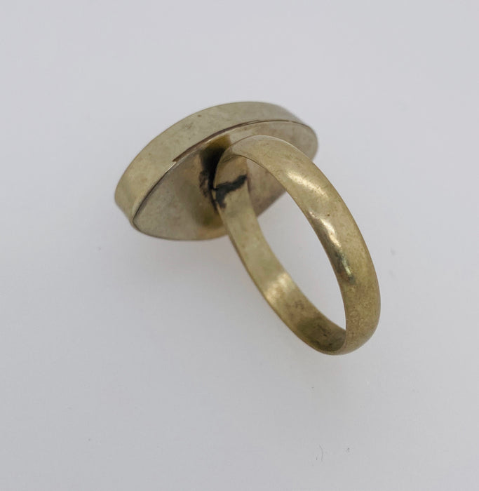 1950's Vintage Tribal Moroccan Eye Drop Ring