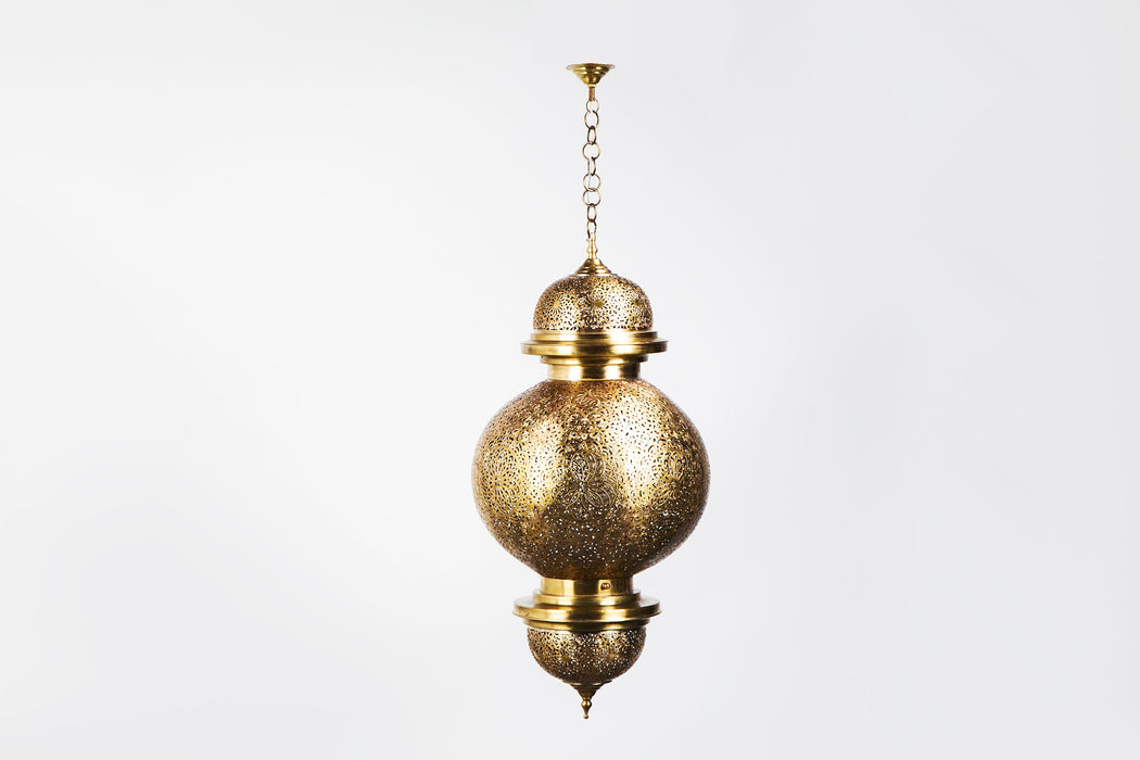 Fez Chandelier or Pendant, Pair Available
