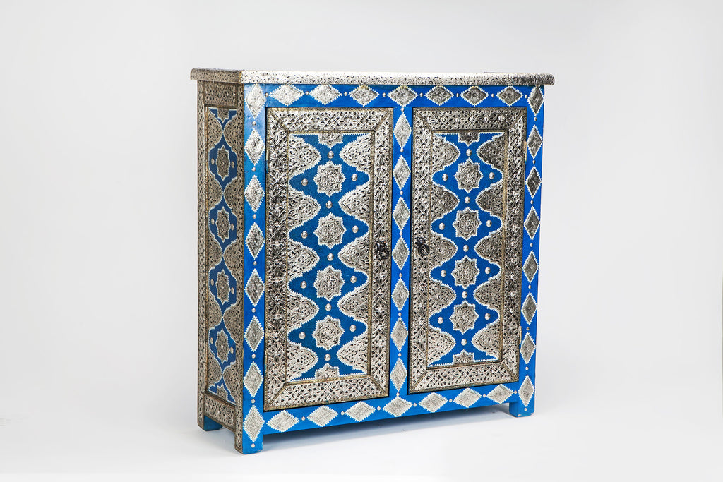 Moroccan chawen cabinet