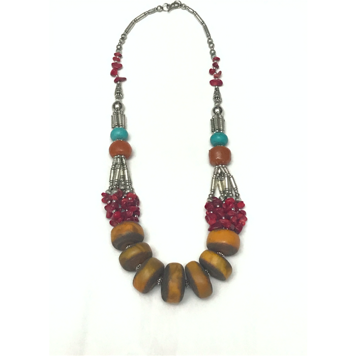 Vintage style Moroccan Necklace