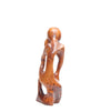Thuya Sculpture - Pensive Man