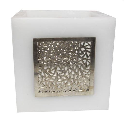 Small White Kasbah Tealight Holder