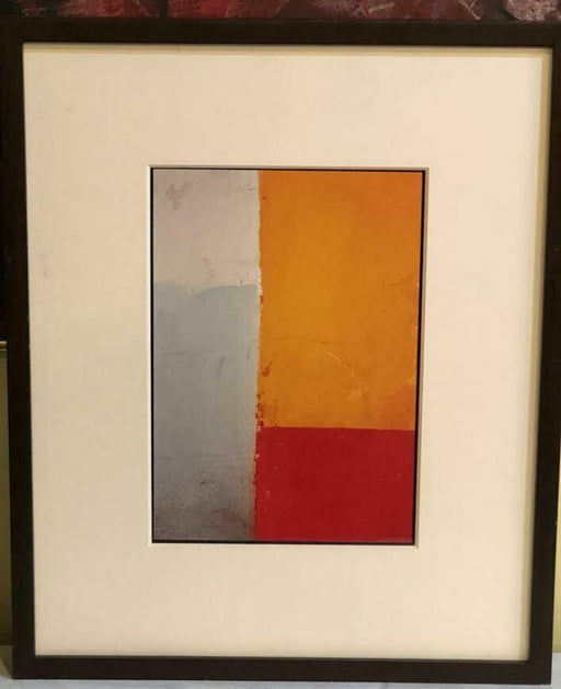 "Patricia Wilder in Quote ""Passage"" Framed and Matted Print"