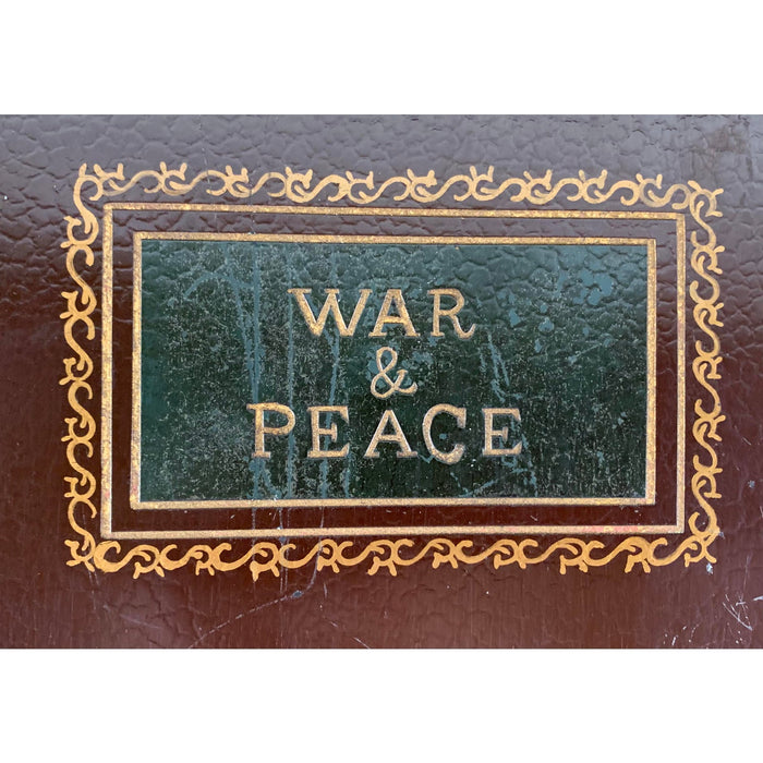 War and Peace Book Shaped Box or Storage Case