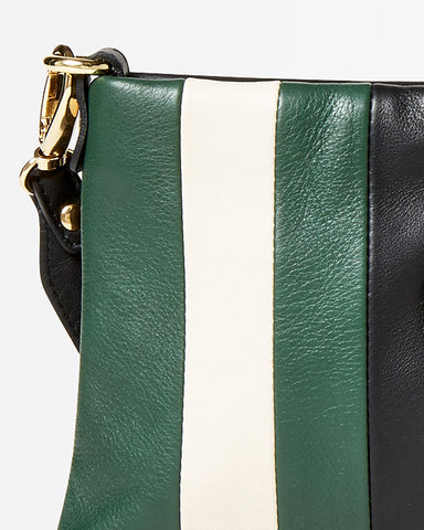 FW18 - Stripes - Vanille - Green/Milk/Black - FW18 - Stripes - Vanille - Green/Milk/Black