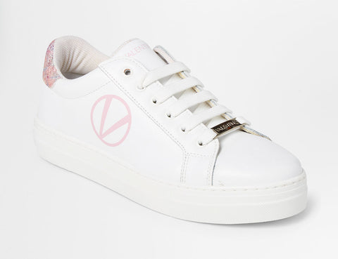 SS20 - Sneakers - Petra - White + Pink - SS20 - Sneakers - Petra - White + Pink