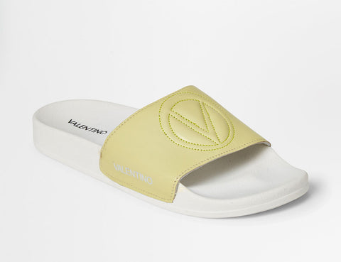 SS20 - Sandals - Samantha Logo - Lime - SS20 - Sandals - Samantha Logo - Lime