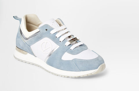 SS20 - Sneakers - Iris - Light Blue + White - SS20 - Sneakers - Iris - Light Blue + White