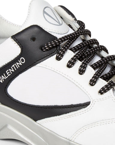 SS20 - Sneakers - Theo - White + Black - SS20 - Sneakers - Theo - White + Black