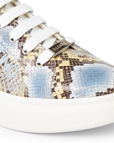 SS20 - Sneakers - Fresia Python - Light Blue - SS20 - Sneakers - Fresia Python - Light Blue