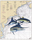Chart Art - North Atlantic Offshore Slam