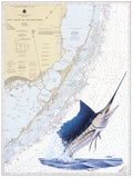 Chart Art - Upper Keys Sailfish