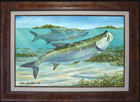 Fine Art - Silver Kings (Tarpon)