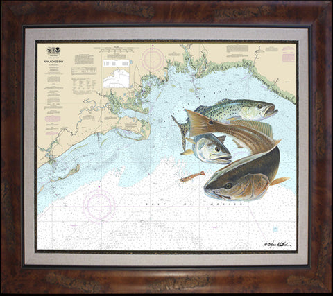 Chart Art - Apalachee Bay Bully