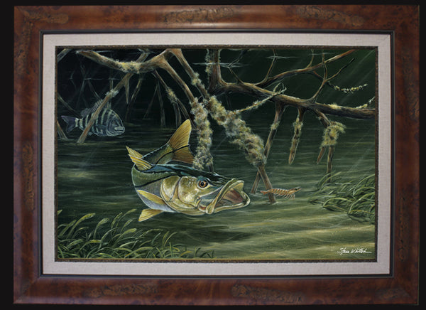 Fine Art - Blindsided Snook