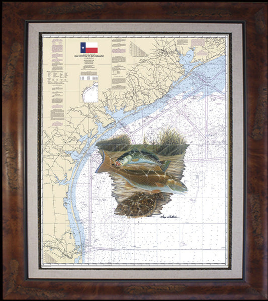 Texas Inshore Slam Chart Art