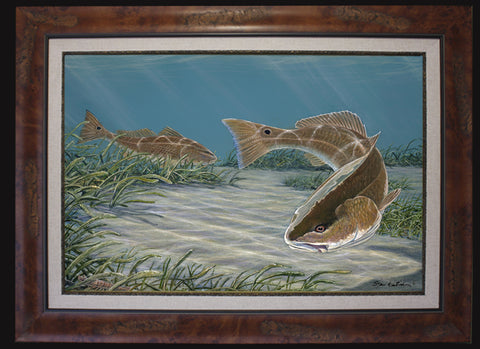 Fine Art - Redfish Duo