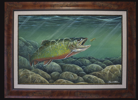 Fine Art - Brook Trout (BF L/E O/E)