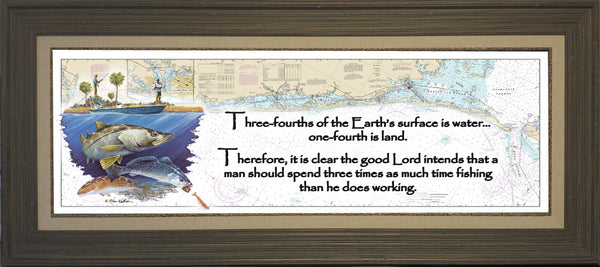 Inspiration Florida Inshore Chart Art