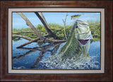 Lucky 13 (Largemouth Bass) - Fine Art