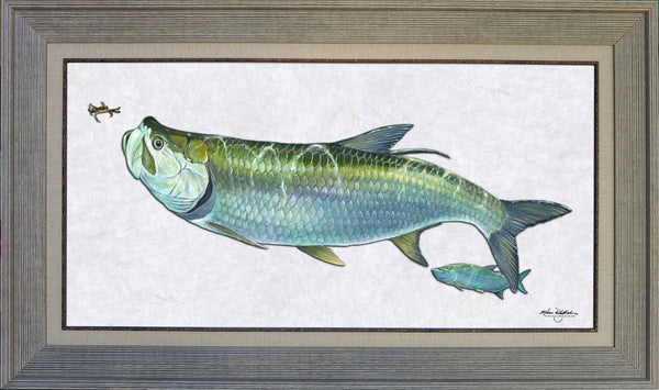 Acrylic Illustration - Tarpon