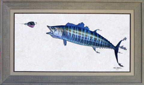 Acrylic Illustration - Wahoo