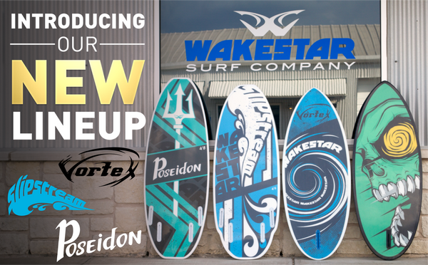 Introducing the Wakestar Board Lineup!