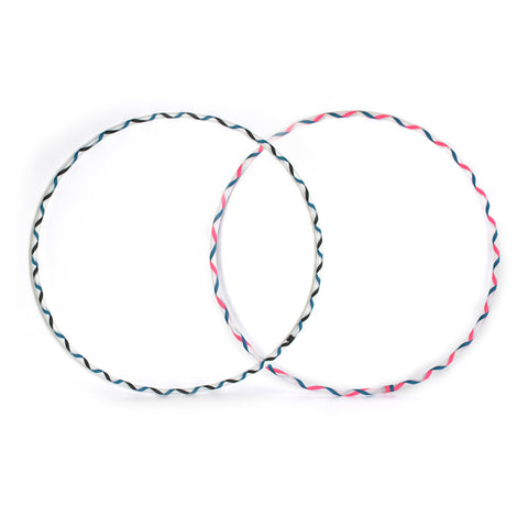 Criss Crossed, Twin Mini, Polypro Hula Hoops