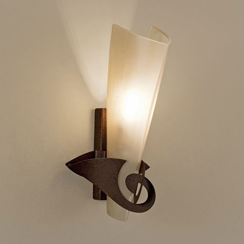 Phantom Rust and Gold Wall Sconce