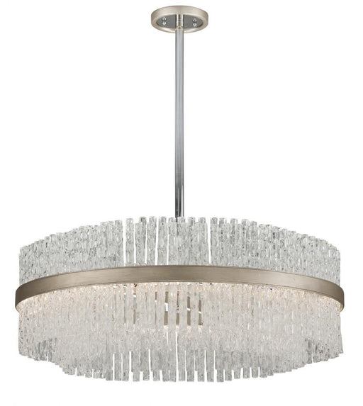 CHIME PENDANT - Silver Leaf Finish