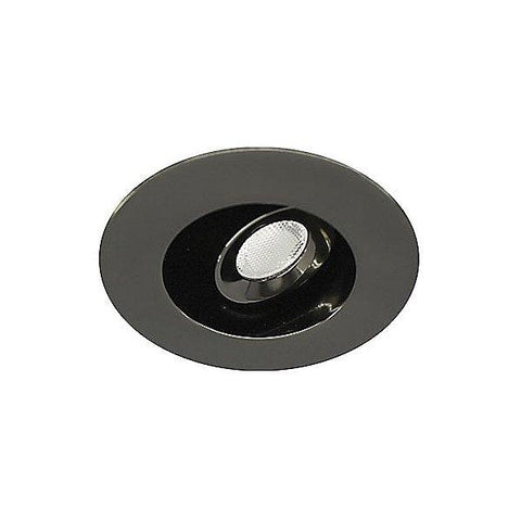 1 Inch Gun Metal LEDme Electonic Recessed Downlight Kit - 20 Degree Adjustment from Vertical