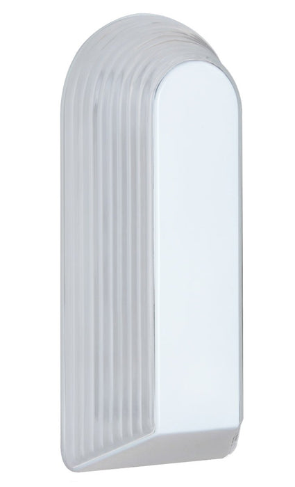 2433 Series Outdoor Wall Sconce - White Finish Frost Glass