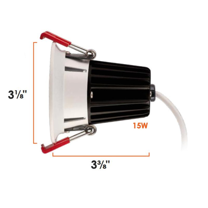 "2"" J-Box Canless SnapTrim Downlight - Diagram"
