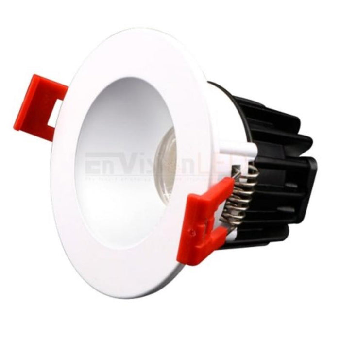 "2"" J-Box Canless SnapTrim Downlight - White Finish"