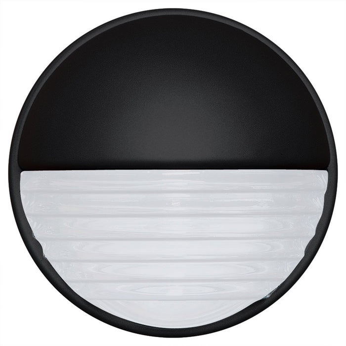 3019 Series Outdoor Wall Sconce - Black Finish Frost Glass