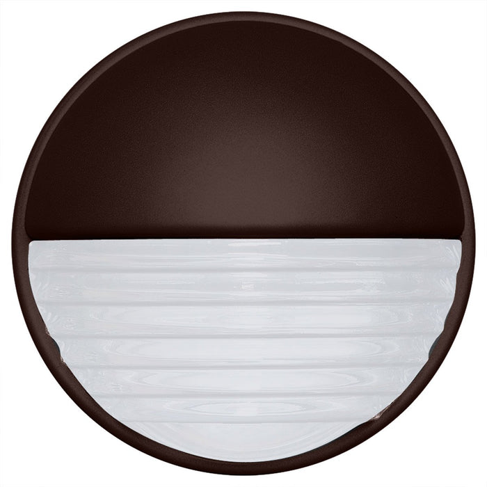 3019 Series Outdoor Wall Sconce - Bronze Finish Frost Glass