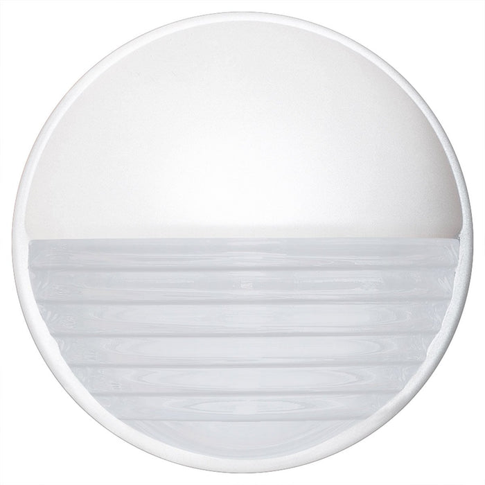 3019 Series Outdoor Wall Sconce - White Finish Frost Glass