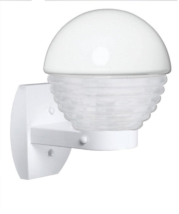3061 Series Outdoor Wall Sconce - White Finish Frost Glass
