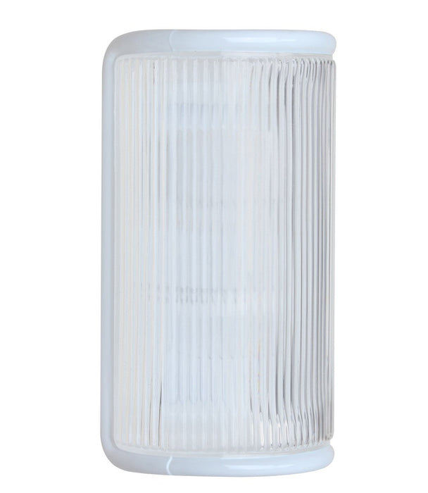3079 Series Outdoor Wall Sconce - White Finish Frost Glass