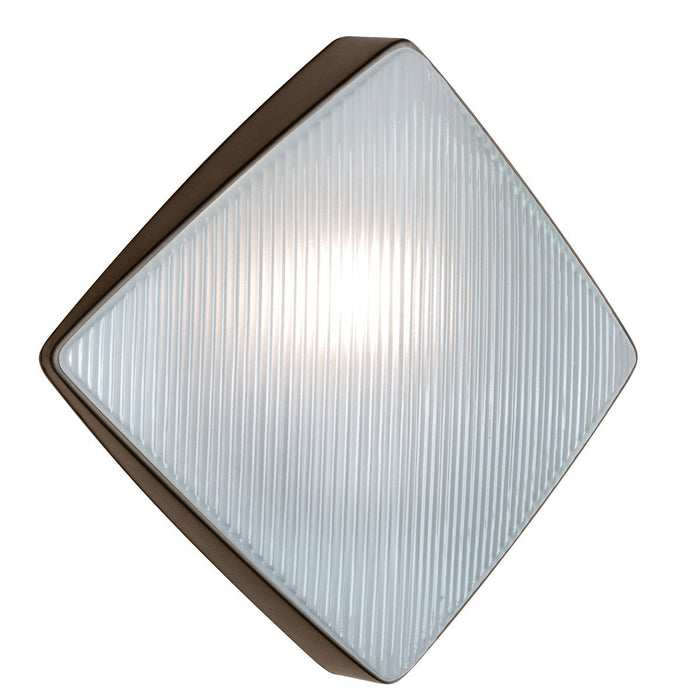 3110 Series Outdoor Wall Sconce - Bronze Finish Frost Glass