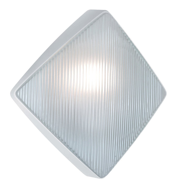 3110 Series Outdoor Wall Sconce - White Finish Frost Glass