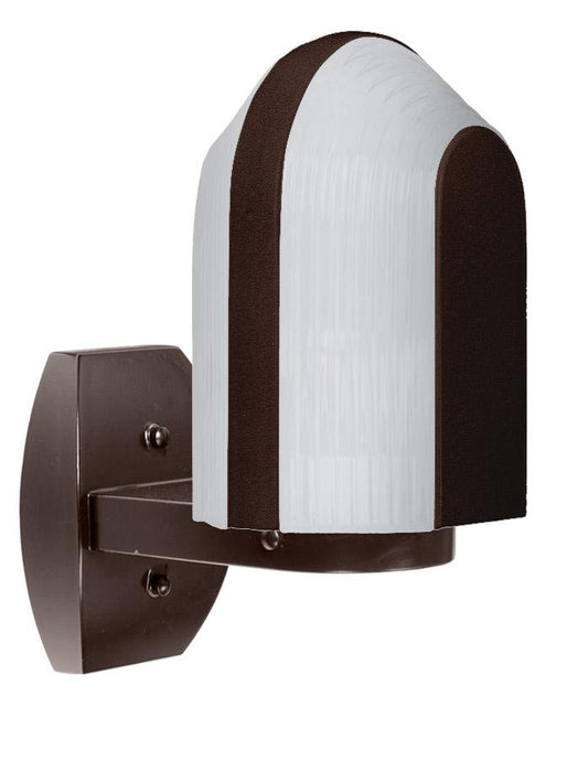 3139 Series Outdoor Wall Sconce - Bronze Finish Frost Glass