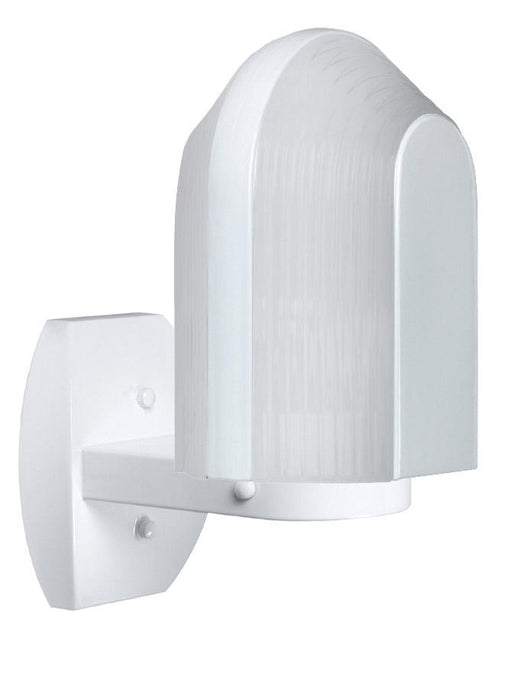 3139 Series Outdoor Wall Sconce - White Finish Frost Glass