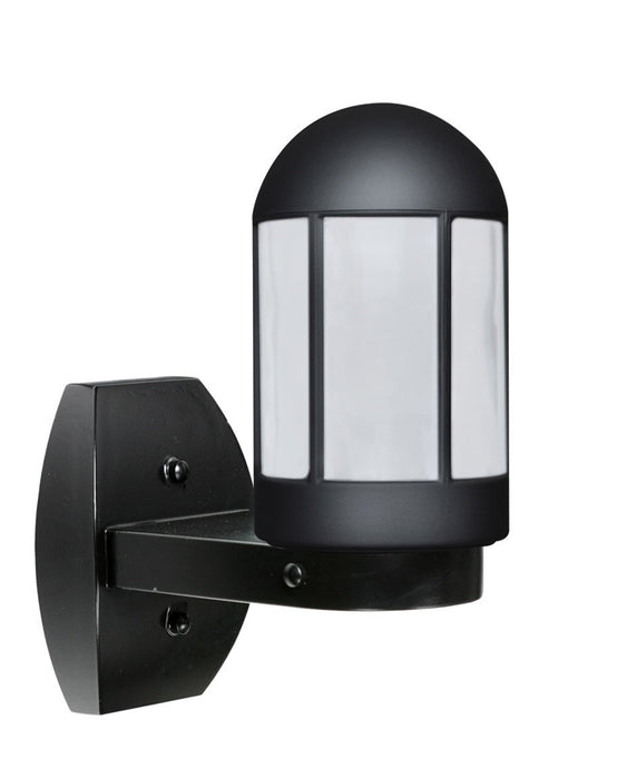 3151 Series Outdoor Wall Sconce - Black Finish Frost Glass