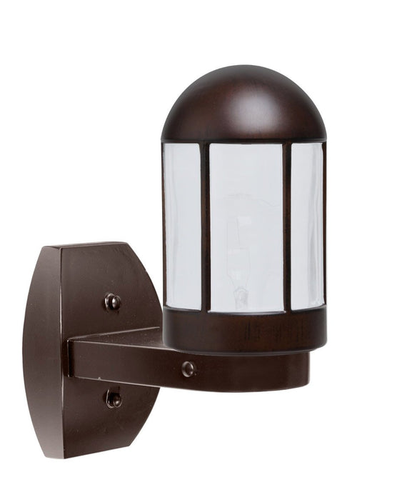 3151 Series Outdoor Wall Sconce - Bronze Finish Frost Glass