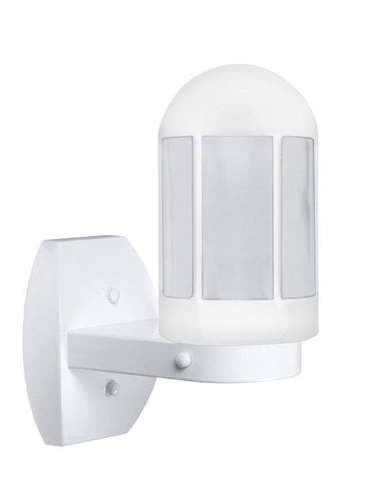 3151 Series Outdoor Wall Sconce - White Finish Frost Glass