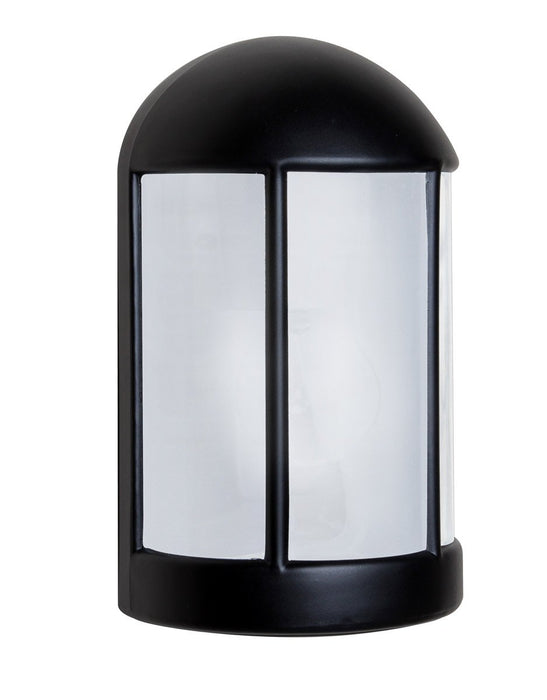 3152 Series Outdoor Wall Sconce - Black Finish Frost Glass