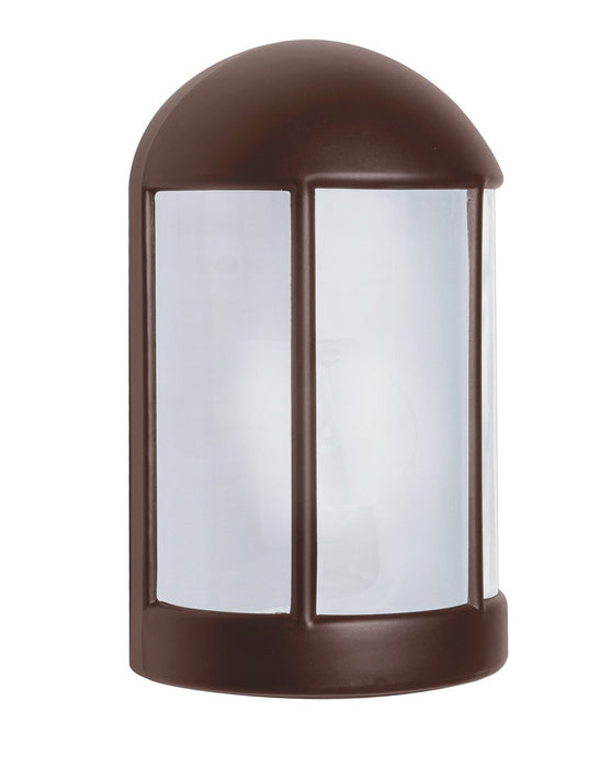 3152 Series Outdoor Wall Sconce - Bronze Finish Frost Glass