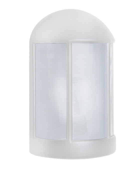 3152 Series Outdoor Wall Sconce - White Finish Frost Glass