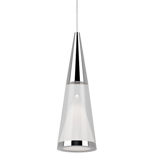 402401 LED Mini Pendant - Chrome